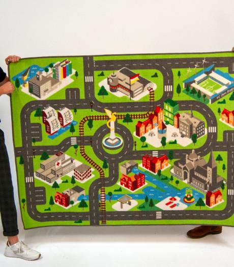 Een speelkleed van Den Bosch: kind kan nu ook scheuren langs de Gouden Draak en Sint-Jan