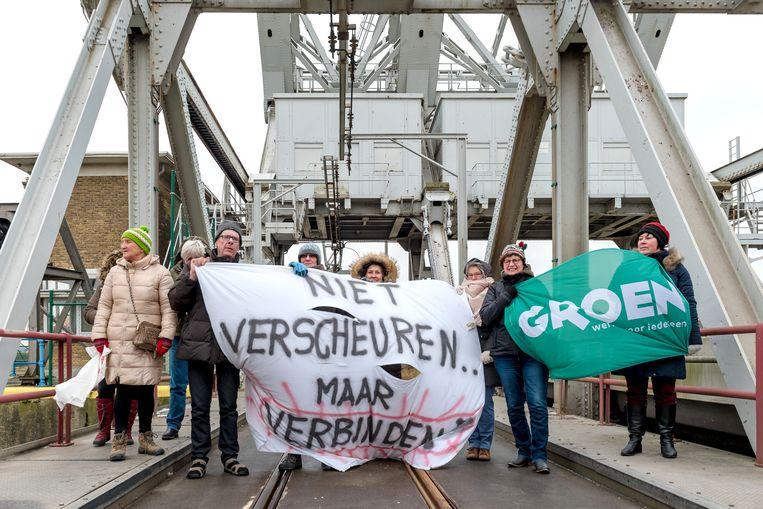 De actiegroep voerde eerder al protest tegen de beslissing