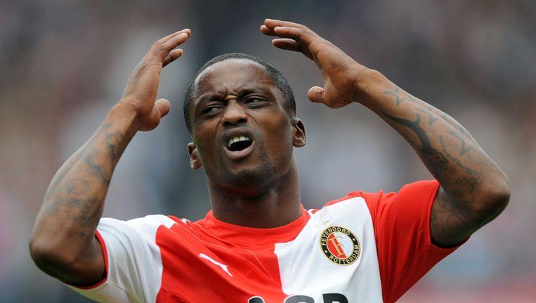 Slory in zijn Feyenoord-periode. Foto ANP Beeld