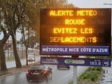 Alerte maximale sur la Côte d'Azur
