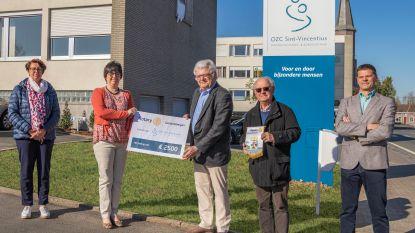 """Rotary Geraardsbergen schenkt 2.500 euro aan OZC Sint-Vincentius voor aankoop beschermingsmateriaal: """"Alle hulp is meer dan welkom"""""""