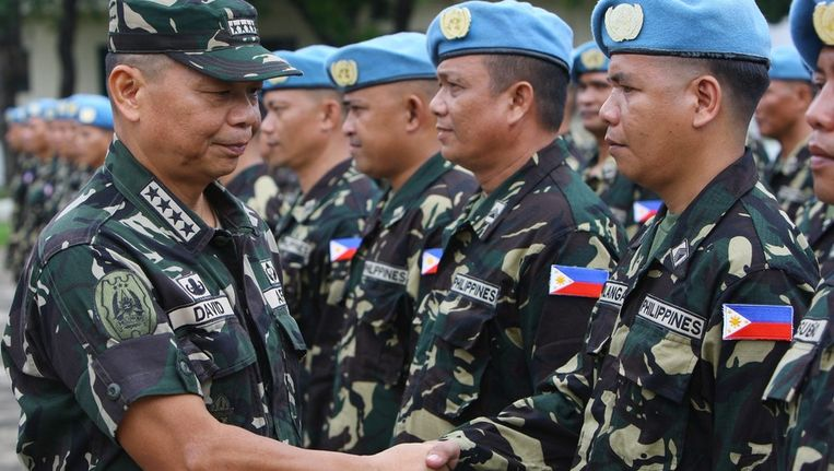 VN-soldaten Beeld EPA