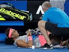Heupblessure houdt Nadal drie weken verplicht aan de kant
