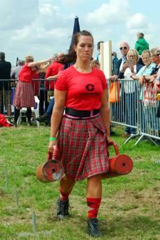 Highlandgames by the sea: 'Daar moet je sterk voor zijn'