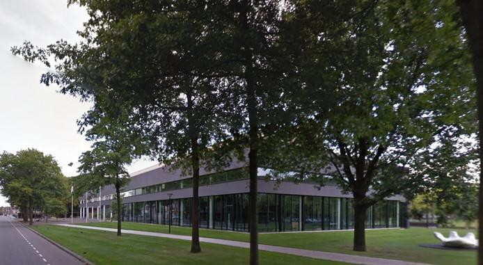 De Raadhuislaan in Oss, vlakbij het gemeentehuis.