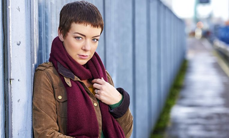 Sheridan Smith in Black Work. Beeld
