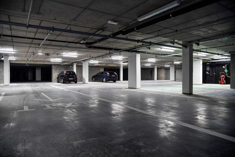 In de ondergrondse parking in de Nieuwstraat kan je tot tien uur gratis parkeren.