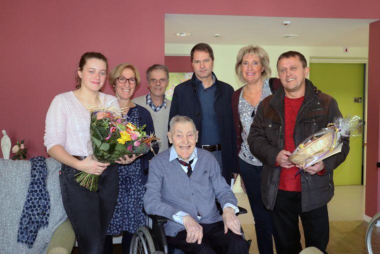 Jos Roosens is 103 geworden.