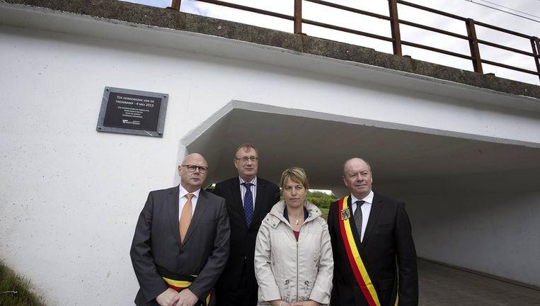 Ook minister Joke Schauvliege was aanwezig