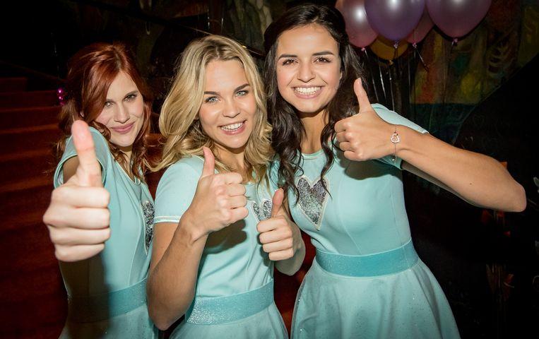 Hanne, Marthe en Klaasje van meidengroep K3 werden 'huppeldoosjes' genoemd door het Nederlandse Tweede Kamerlid Dion Graus.