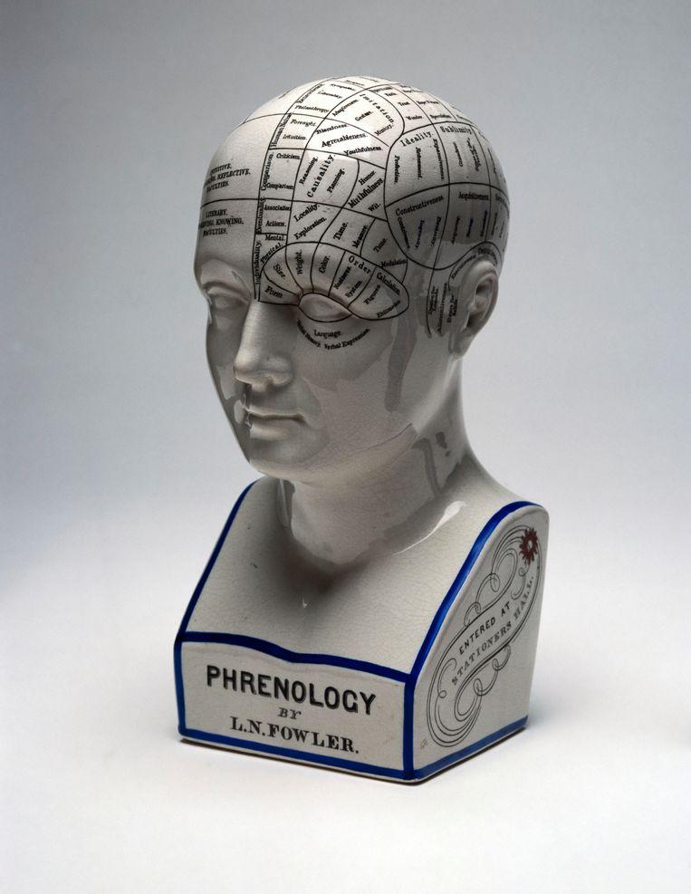 Franz Joseph Gall is de grondlegger van de schedelleer of 'frenologie' (een term die pas later in gebruik raakte): hij stelde dat menselijke eigenschappen af te lezen waren aan de buitenkant van de schedel.  Beeld Getty