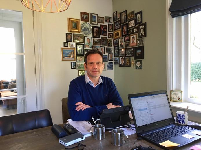 Burgemeester Sjoerd Potter van De Bilt ging een week in quarantaine
