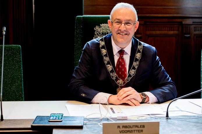 Burgemeester Ahmed Aboutaleb.