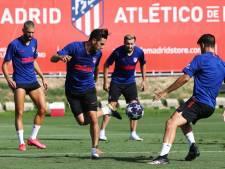 Twee positieve tests bij Atlético Madrid, team van Simeone nog niet naar Lissabon