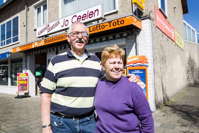 Toni en Mieke van den Bergh in Beek en Donk (archieffoto).