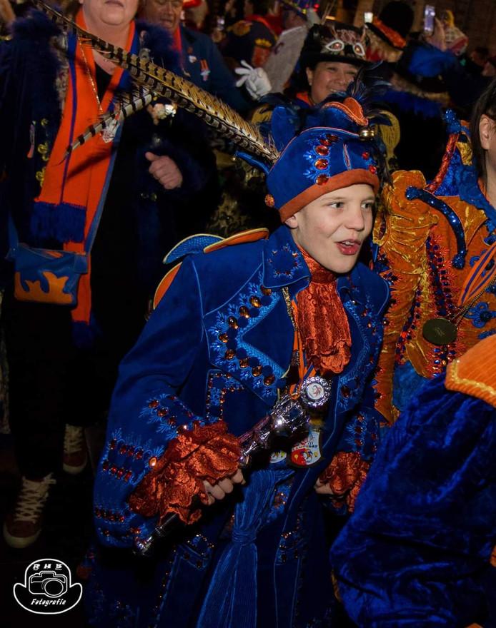 De Markiezing, verkiezing van de Markies, van de Club 111 tijdens het carnaval van vorig jaar.