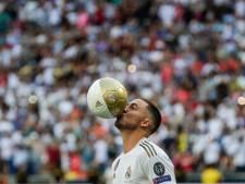 Hazard bij presentatie Real: Modric wil mij rugnummer 10 niet geven
