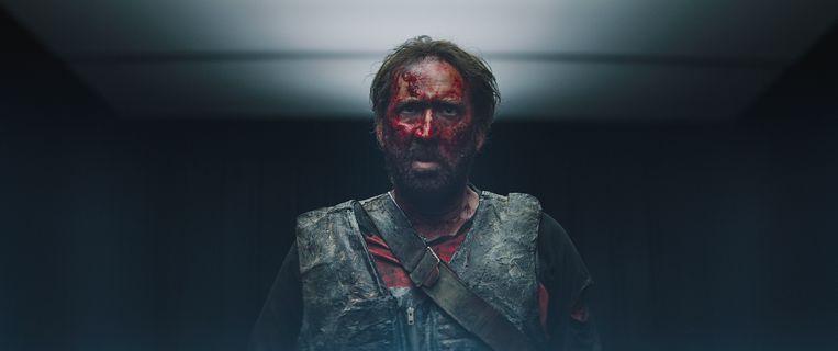 Nicolas Cage in 'Mandy'. Beeld Film beeld