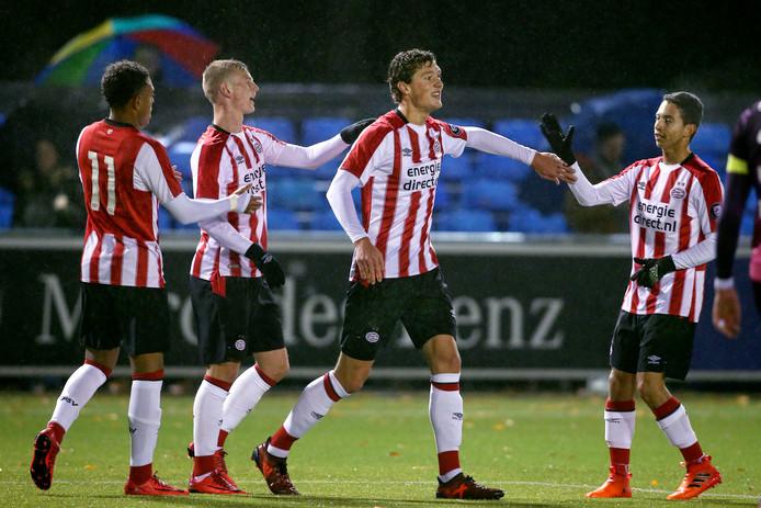 Donyell Malen, Albert Gudmundsson, Sam Lammers en Mauro Junior: 4 talenten voor de aanval van PSV.