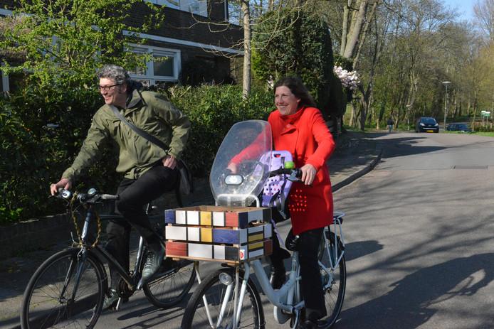 GroenLinks-onderhandelaars Arjen Kapteijns en Erlijn Wenink.