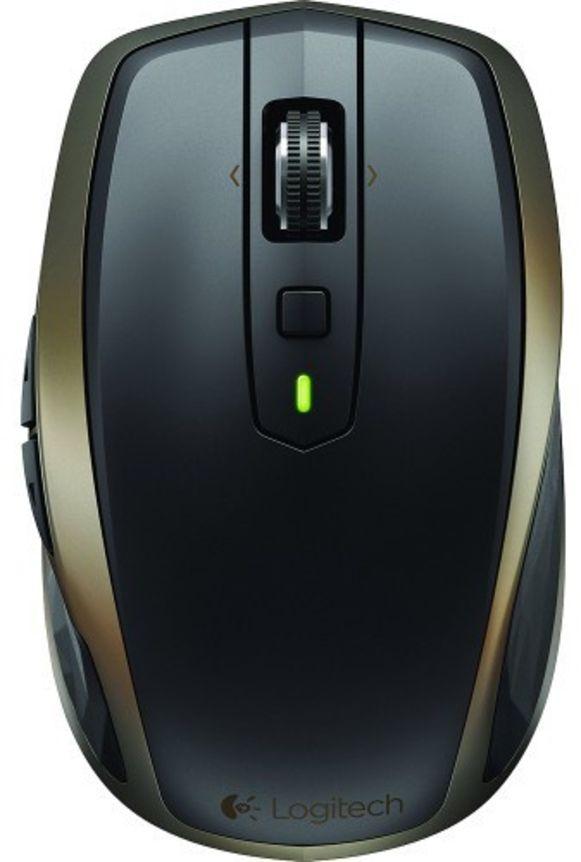 Een accurate computer- en gamingmuis van Logitech.