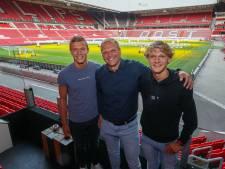 De familie Raaijmakers is uit de profbubbel, maar nog altijd bij PSV