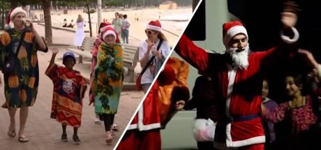 Video van de Dag   Zo vieren ze kerst in andere delen van de wereld: van doedelzak tot zonnebrand