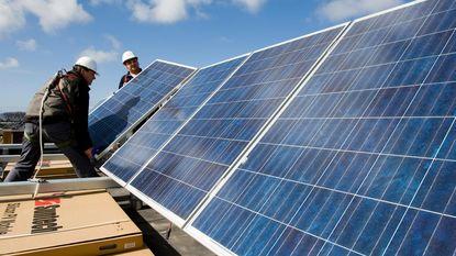 Meer dan 500.000 euro voor zonnepanelen op stedelijke gebouwen