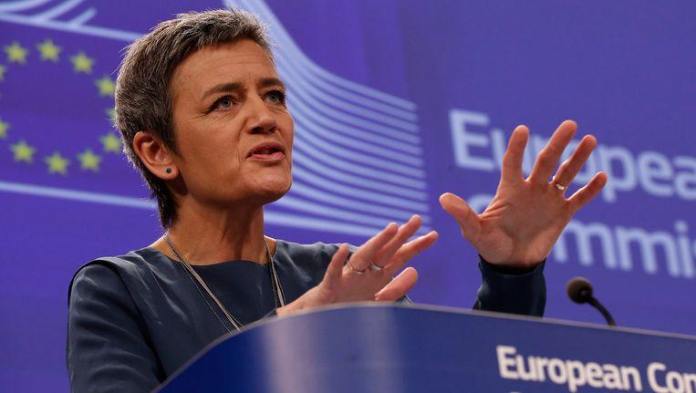 De Deense Margrethe Vestager, Europees Commissaris voor Mededinging.