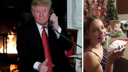 7-jarige beller gelooft nog steeds in de kerstman, ondanks uitschuiver Trump