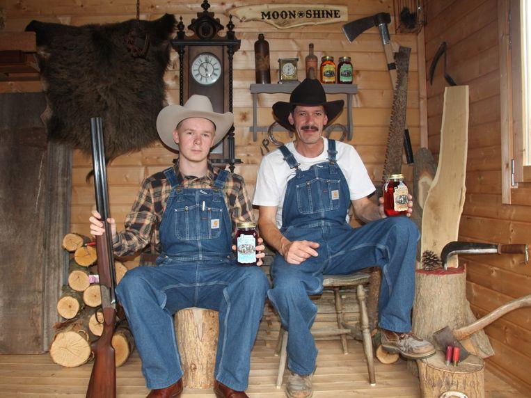 Sybren en Danny Hoffelinck haalden de inspiratie voor hun Moonshine in het Amerikaanse Tennessee.
