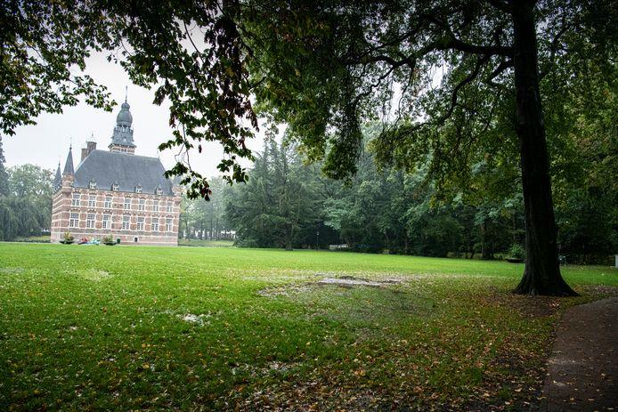 Het kasteel in Wijchen.
