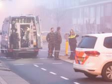 Verdacht voorwerp in de Utrechtse Robijnlaan mogelijk rookgranaat