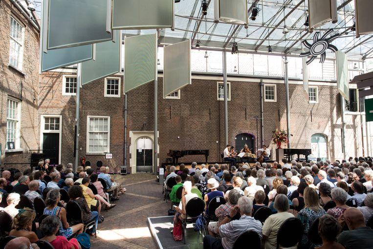 Het Delft Chamber Music Festival. Beeld Ronald Knapp