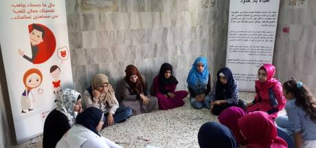 Psychische steun voor Syriërs: na al die jaren in een kamp, kruipen de problemen in je hoofd