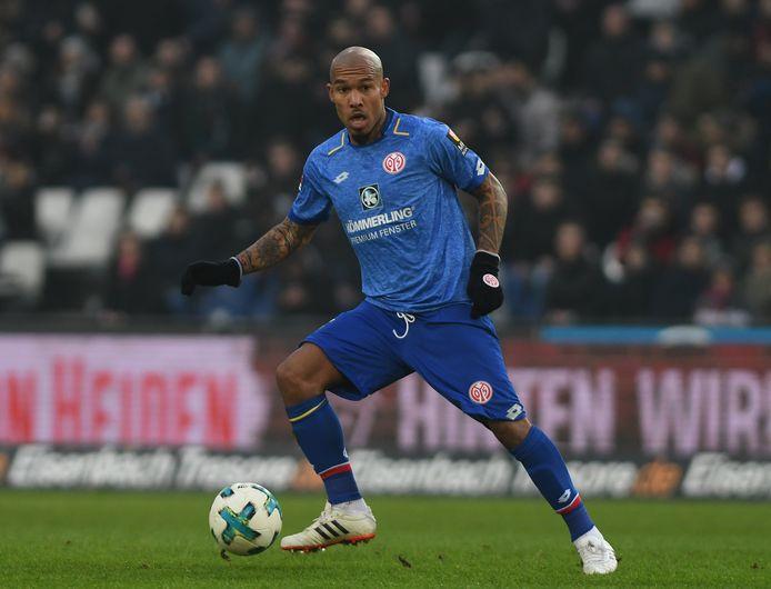 Nigel de Jong in actie voor FSV Mainz vorig jaar.