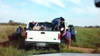 20 illegale immigranten springen uit wagen na achtervolging
