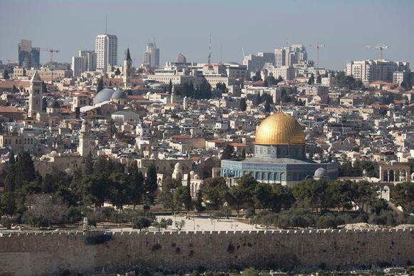 """""""Jeruzalem blijft de ondeelbare hoofdstad van Israël"""", aldus Trump."""