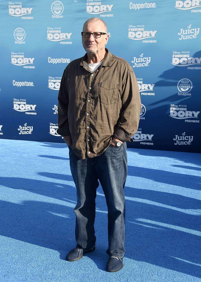 Acteur Ed O'Neill tijdens de première van Finding Dory. Hij sprak de stem in van de mopperige octopus Hank.