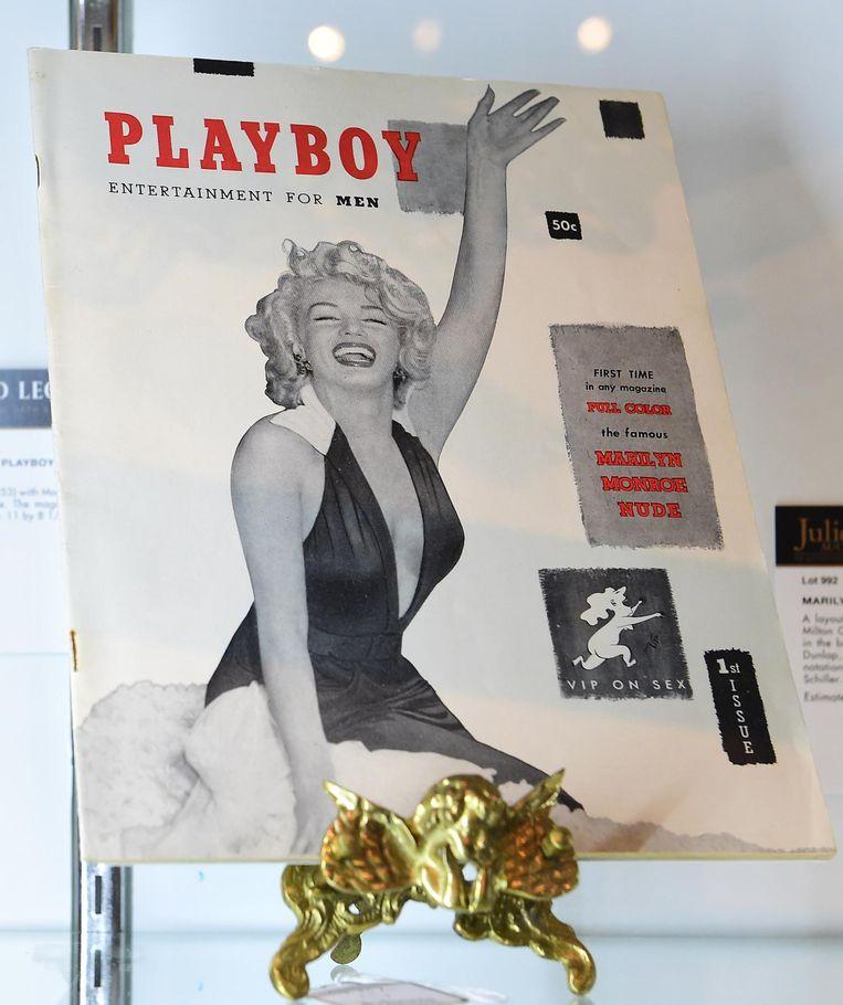De iconische cover met Marilyn Monroe Beeld anp
