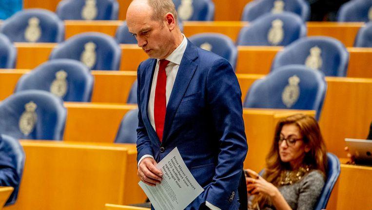 Gert-Jan Seegers en Dilan Yesilgöz Beeld anp