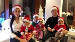 Kerstmutsen bij Ronaldo, Bouchard in Hawaii: zó brengt sportwereld feestdagen door