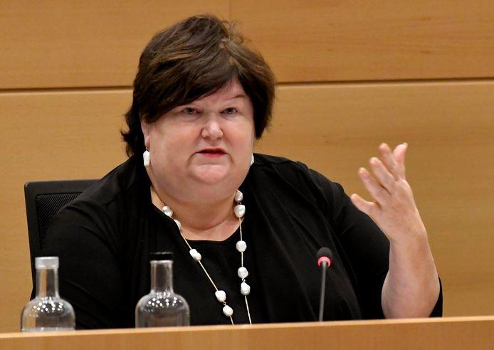 Huidig minister van Asiel en Migratie Maggie De Block (Open Vld).