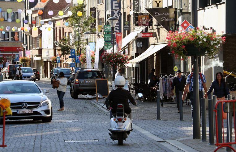 In de Zandstraat start 'Made in Herentals', een pand waar jonge ondernemers goedkoop kunnen huren.
