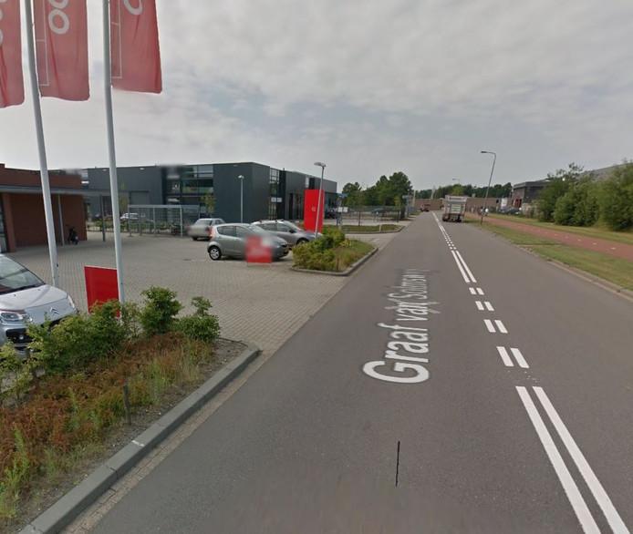 Industriegebied De Rietvelden in Den Bosch.