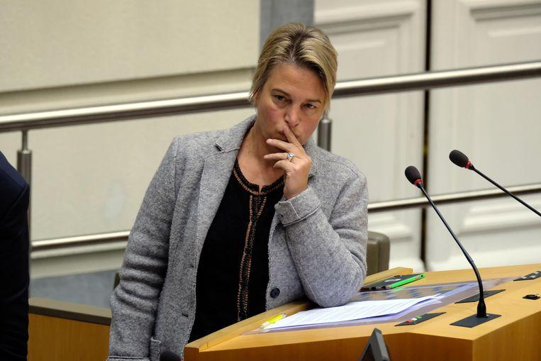 Het protest omarmen, zoals Joke Schauvliege even probeerde, is de kritiek accepteren. En dus kronkelt haar partij ongemakkelijk.