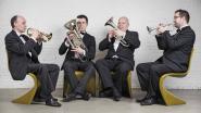 Cosy Brass Quartet in kerk van Dikkele