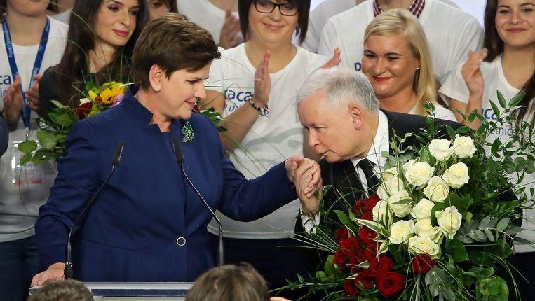 Jaroslaw Kaczynski Beeld epa