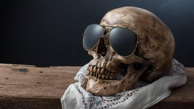Schedel met zonnebril op schoorsteen blijkt die van man die al acht jaar vermist is