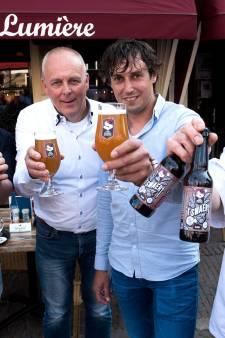 Het eerste biertje van Stadsbrouwerij Oudewater is nu op de tap bij Eetcafé Lumière